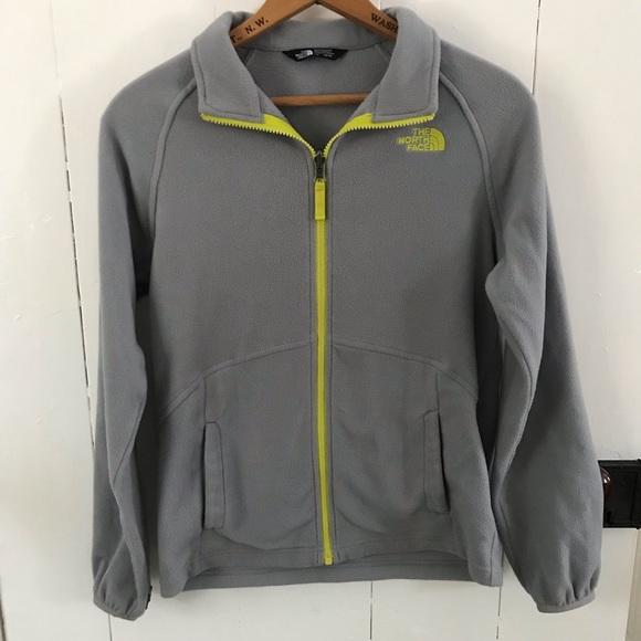 10ab5ca8d 2/$30 Sale • North Face Boy's grey zip up fleece•